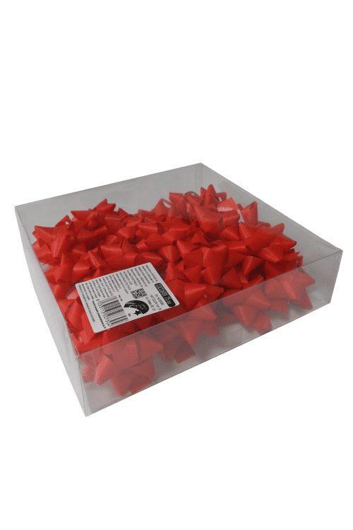 Caixa de laços vermelho