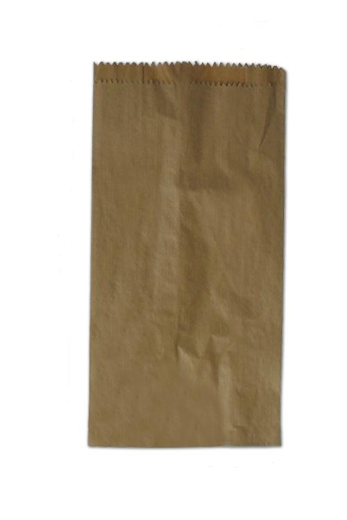 Saqueta de papel formato tradicional kraft castanho