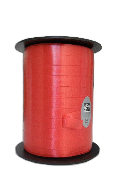 Fita de embrulho lisa vermelho 10x250